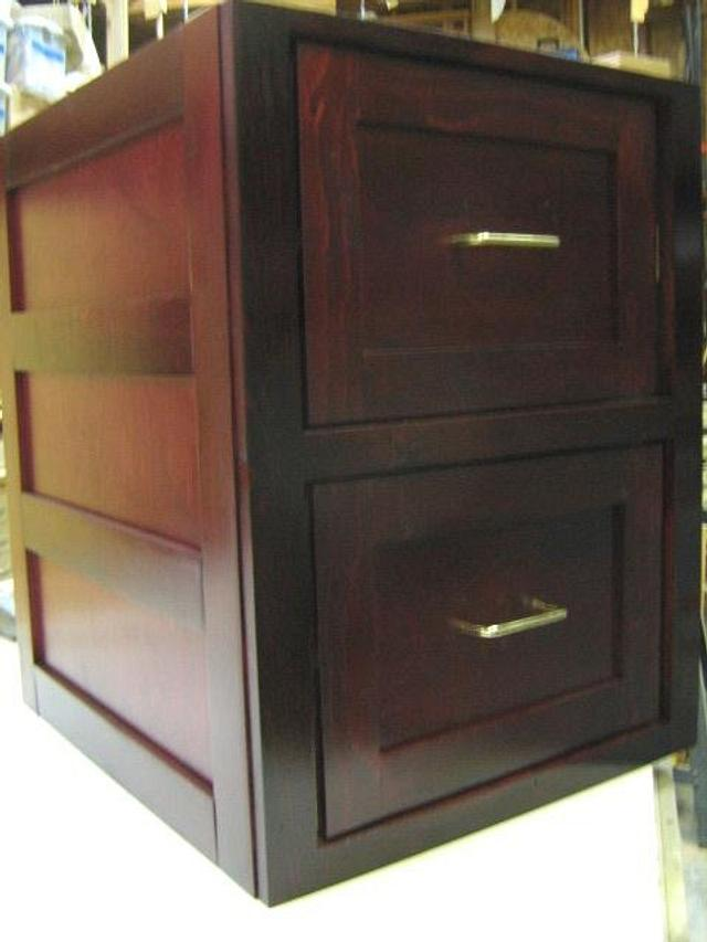 FILE CABINET - Woodworking Project by a1jim