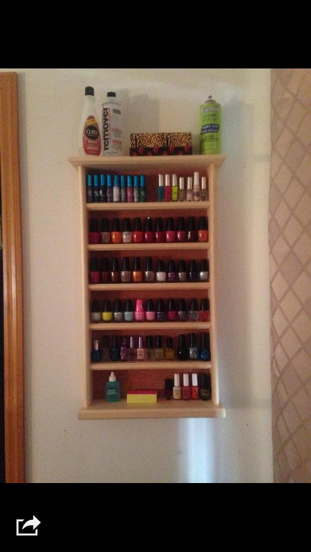 Nail Polish Holder - Woodworking Project by David A Sylvester