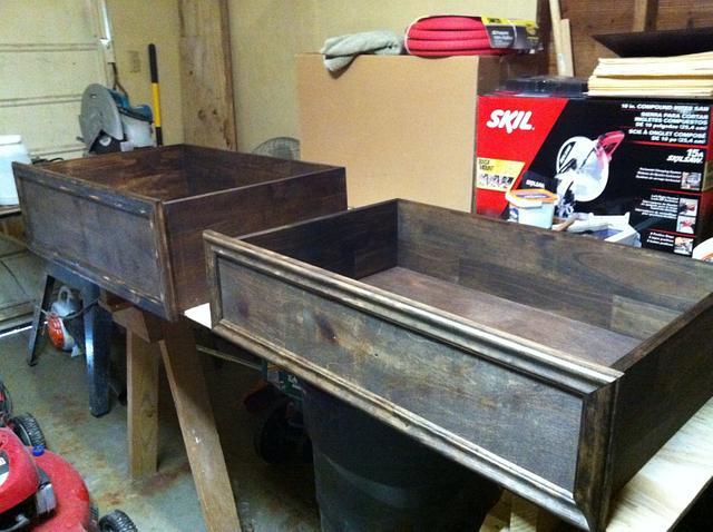 Distressed nightstand/dresser