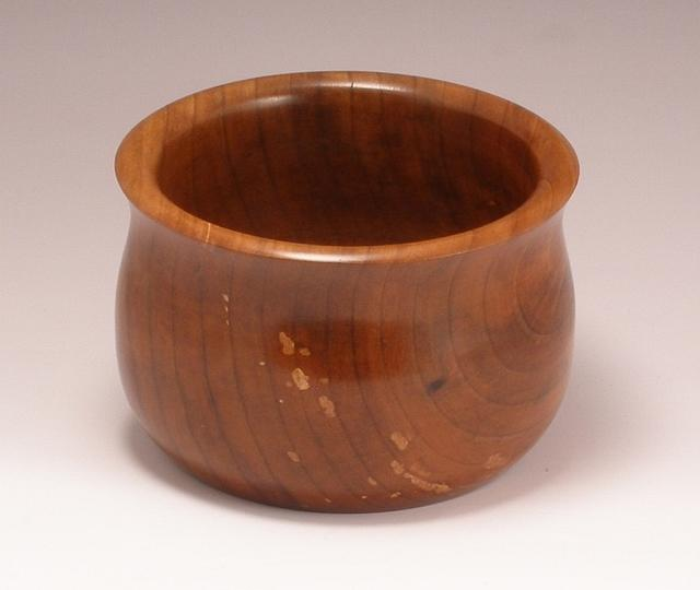 Small Bowl in Pear wood - Woodworking Project by BarbS