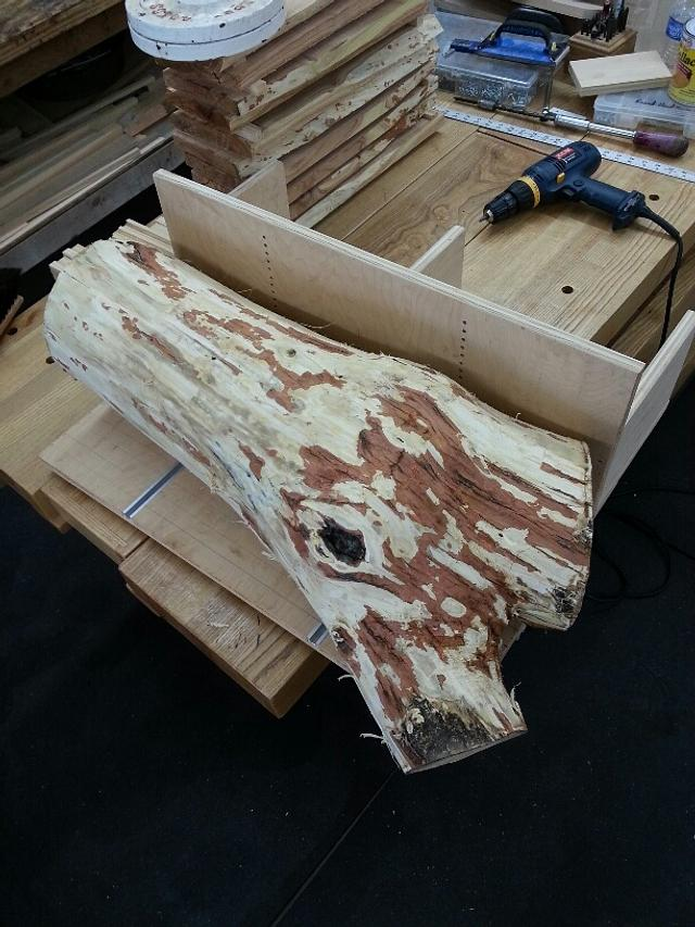 Bandsaw Sled for Resawing Logs & some BS Crosscuts