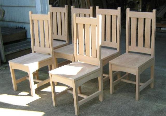 Arts n crafts chairs - Woodworking Project by a1jim