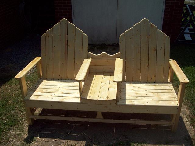 cozy bench