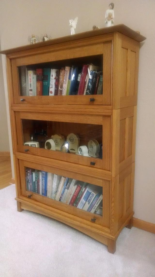 Barrister Bookcase - Woodworking Project by kenmitzjr