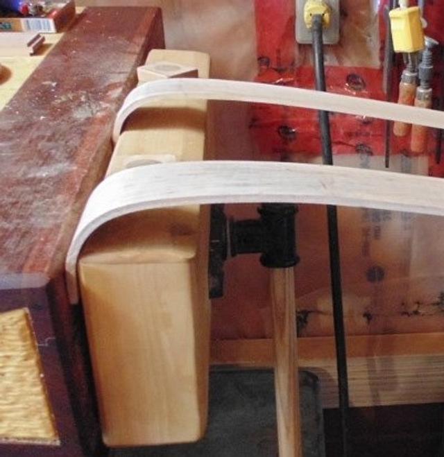 Steambending back scratchers