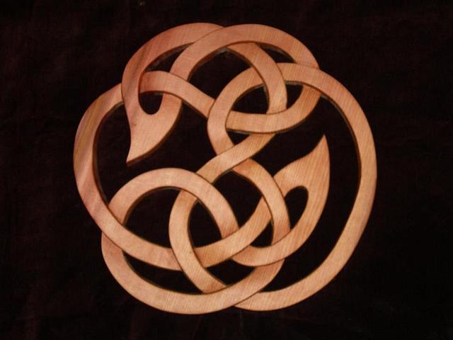 Viking ornament plaque