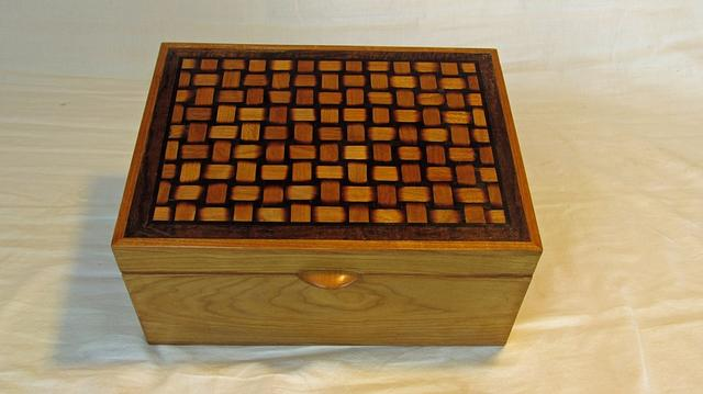 Basket Weave Box - Woodworking Project by Woodbridge