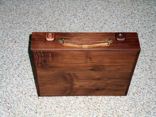 Black Walnut Briefcase