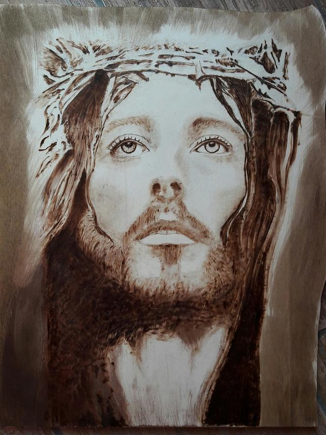 Cristo. .passione. . - Woodworking Project by Brio creativity di Carmela iadicicco