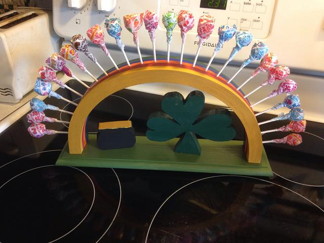 ST Patricks loli pop holder - Woodworking Project by David A Sylvester