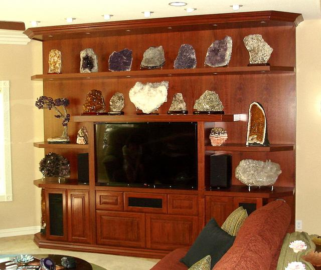 Walnut Wall Unit - Woodworking Project by Bentlyj
