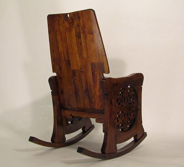 Rohlfs Inspired Rocking Chair