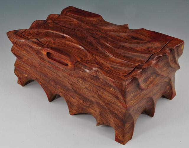 A box made from Cocobolo