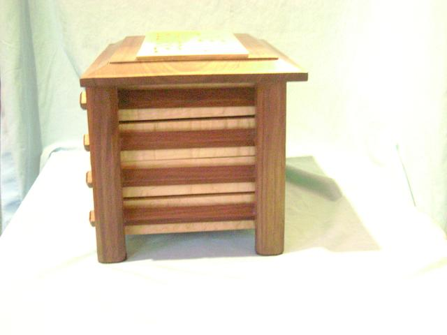 Pagoda Style Jewelry Box