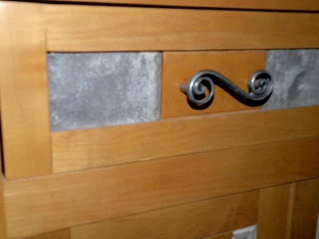 Mosaic Maple Sideboard