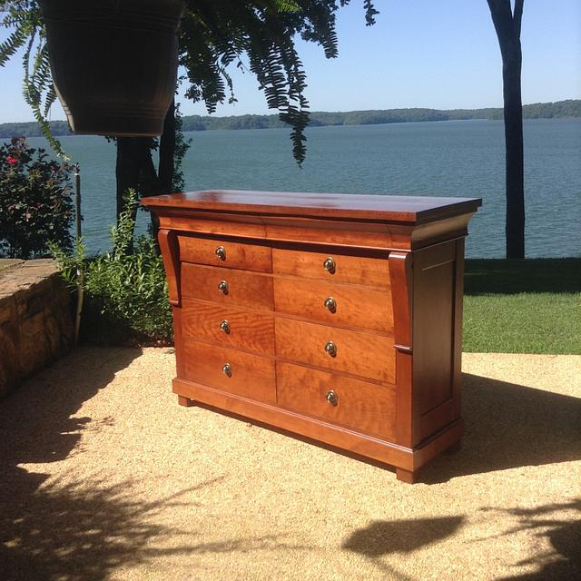 Cherry Dresser for my Granddaughter - Woodworking Project by oldrivers
