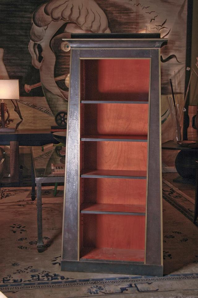steel clad bookcase