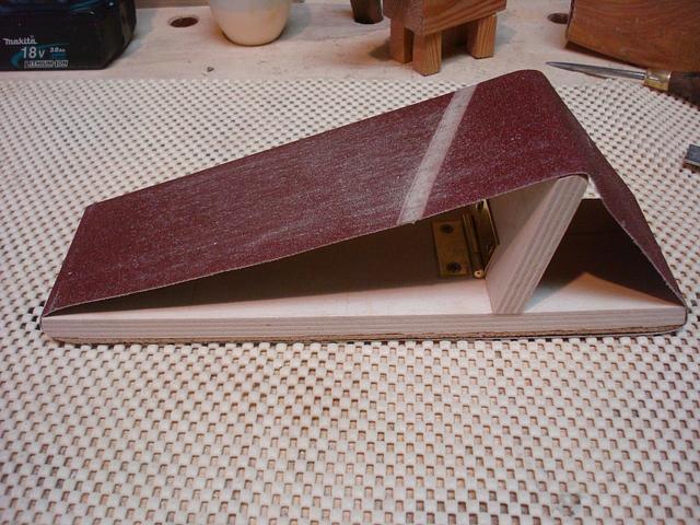 3 X24 HAND BELT SANDER - Woodworking Project by kiefer