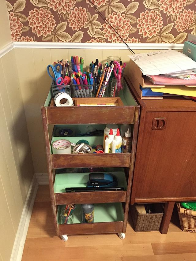 Art, Craft and Stationery Trolley