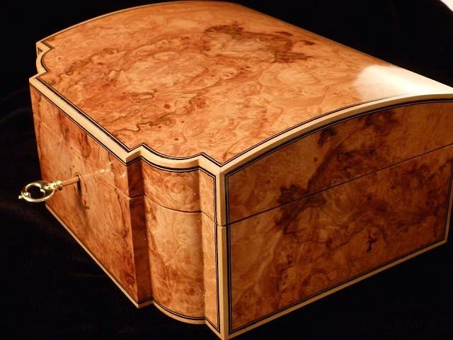 Maple Burl Jewelry Box - Woodworking Project by RogerBean