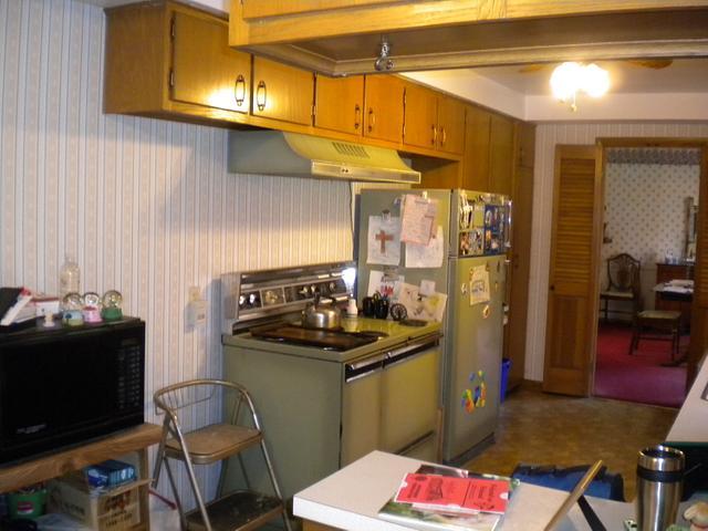Custom galley kitchen
