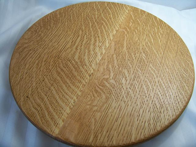 quarter sawn white oak lazy susans
