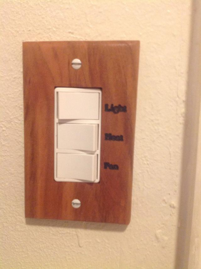 Wood switch/receptacle cover plates