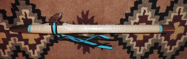 Native American Flutes, Rawhide Handrums, duck calls ect...