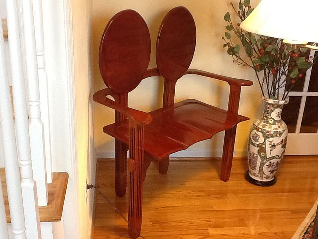 Cherry love seat, cherry and oak desk,cherry desk and chair, chair,and secretary - Woodworking Project by Jack King