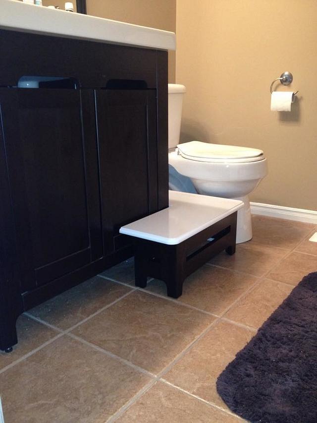 Kids Bathroom Vanity Bench