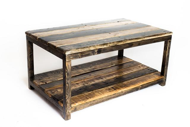 Pallet Wood and 2x2 Coffee Table
