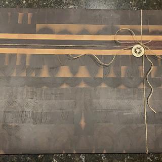 Butcher Block Cutting board - Project by TangledMaple