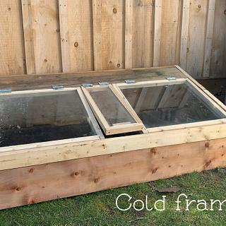 Cold Frame #2 - Woodworking Project by MsDebbieP