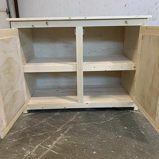 Extra Kitchen Cabinet - Woodworking Project by Sheri Noble, woodworking at it's finest!
