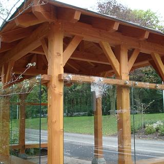 Bus stop. - Woodworking Project by Madts