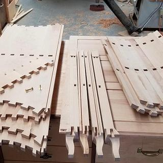 18th Century French Joinery - Project by shipwright