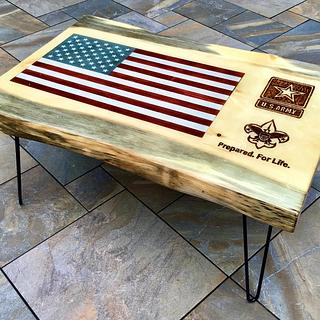 Scoutmaster Coffee Table - Cake by DelTurcoRustics