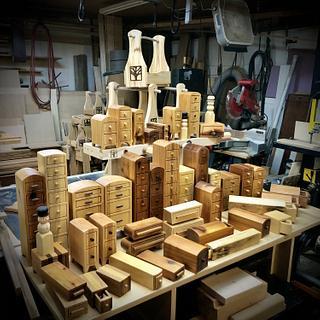 Bandsaw boxes - Project by Narinder Jugdev