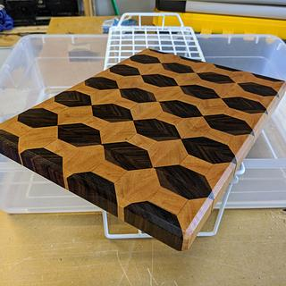 My first end grain cutting board - Project by TJ512