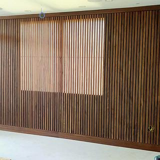 Slatwall Wall Covering - Project by Bentlyj