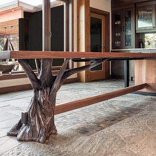 Walnut table - Woodworking Project by Glaros Studios