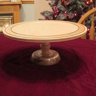 Cake and Cookie Server - Woodworking Project by Lew