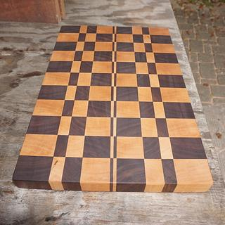 Cutting board for Danish niece - Woodworking Project by Madts