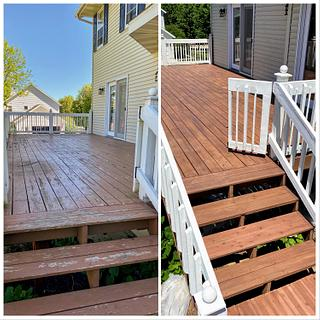 Refinished Deck - Project by horstbc
