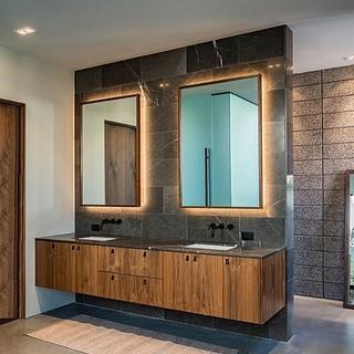 Floating Bath Vanity - Project by Bentlyj