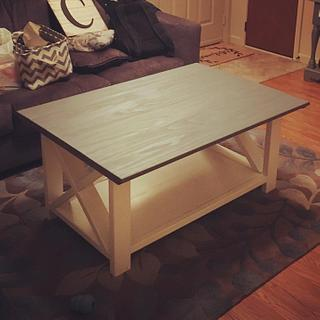 Rustic coffee table - Project by Coal River Workshop
