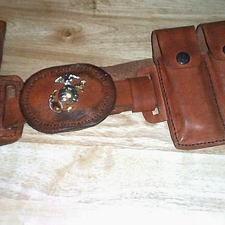 Gun belt and holster - Project by papadan