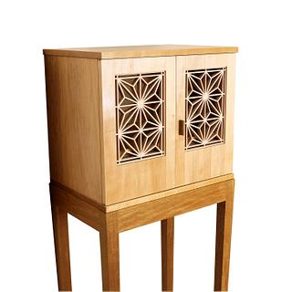 Kumiko Cabinet - Woodworking Project by Norman Pirollo