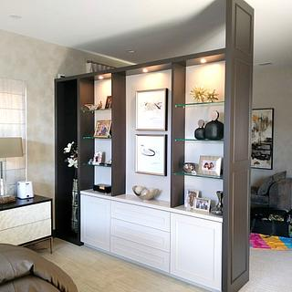 Room Dividing Wall Unit - Project by Bentlyj