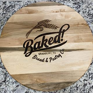 Custom Cutting Board (Sign) - Cake by John Morgan